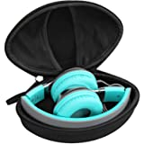 Aproca Hard Travel Storage Case for iJoy Matte/AILIHEN C8 MS300 Wired Headphones Folding Lightweight Headset (Black)