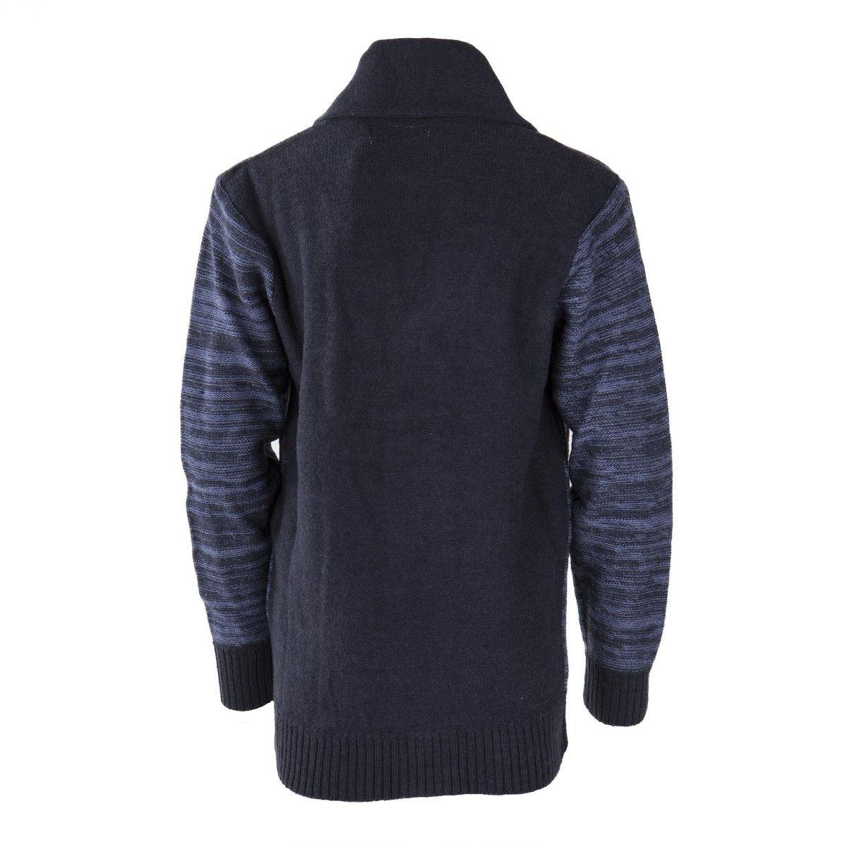 1241b7eef160b Best Mountain Gilet Bleu mariné chiné col châle garçon 16 Ans Bleu:  Amazon.fr: Vêtements et accessoires