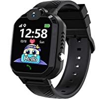 HuaWise Kids Smartwatch,HD Touch Screen Game Watch,Waterproof Smart Watch for Kids with Music Player Dural Camera Alarm…