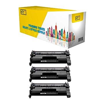 Amazon.com: NYT CF258A - Cartuchos de tóner compatibles para ...