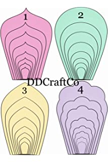 image about Free Printable Paper Flower Templates identified as : Paper Flower Template Package - Crank out Your Private Paper