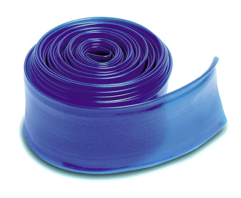 Blue Heavy Duty Swimming Pool PVC Filter Backwash Hose - 25' x 2''