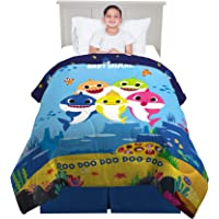 Franco Kids Bedding Super Soft Microfiber Comforter, Twin Size 64€ x 86€, Baby Shark