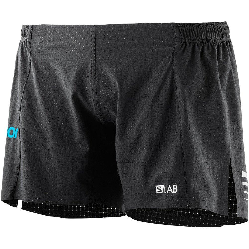 Salomon Women's S-Lab 6'' Shorts, Black, S