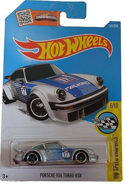 Hot Wheels 2016 Porsche 934 Turbo RSR Silver Graphics Euro