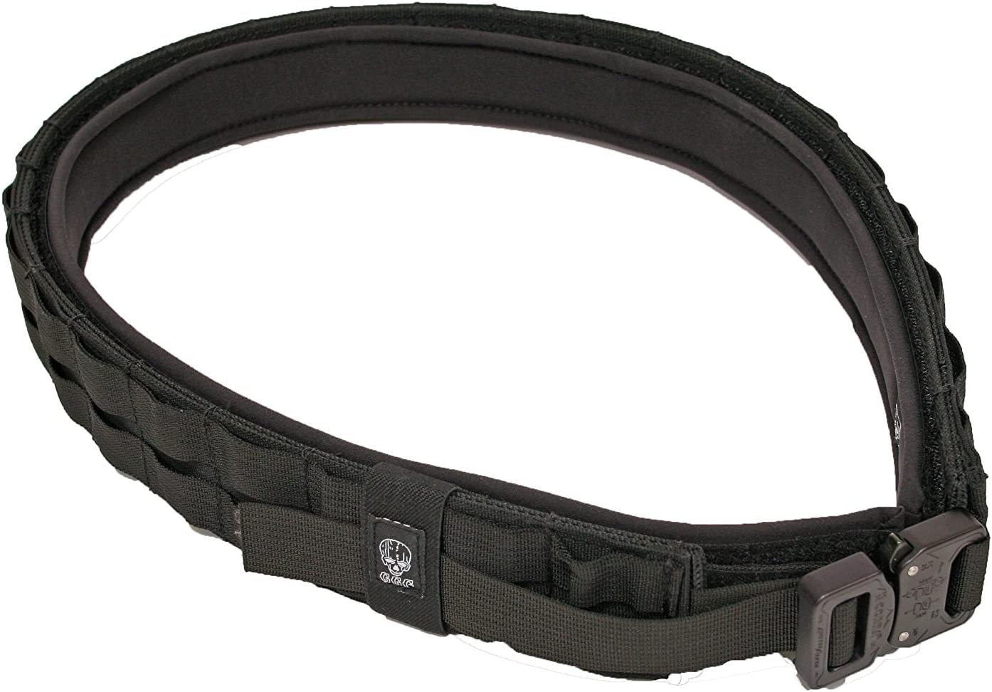 Grey Ghost Gear 7014-2 UGF Battle Belt with Padded Inner, Black, X-Large