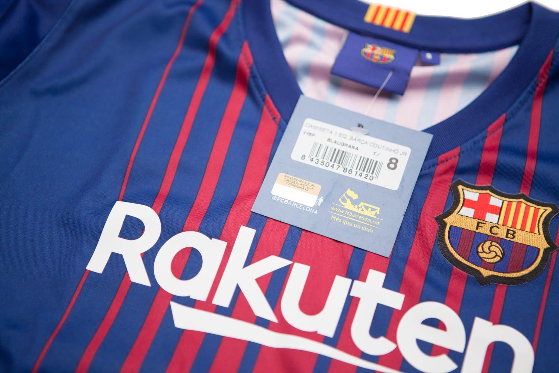 FC BARCELONA COUTINHO 1ª Equipación Replica Oficial (S): Amazon.es: Deportes y aire libre