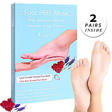chaussette gommage pied