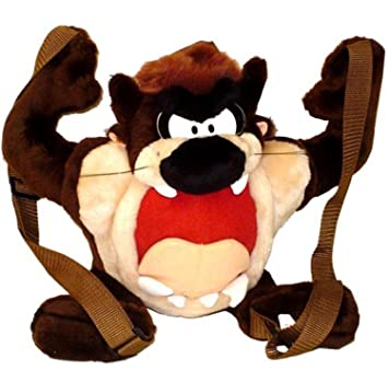 Looney Tunes Tasmania Devil Plush Backpack : Taz backpack