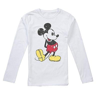 0e740ee72601 Disney Damen Langarmshirt  Amazon.de  Bekleidung