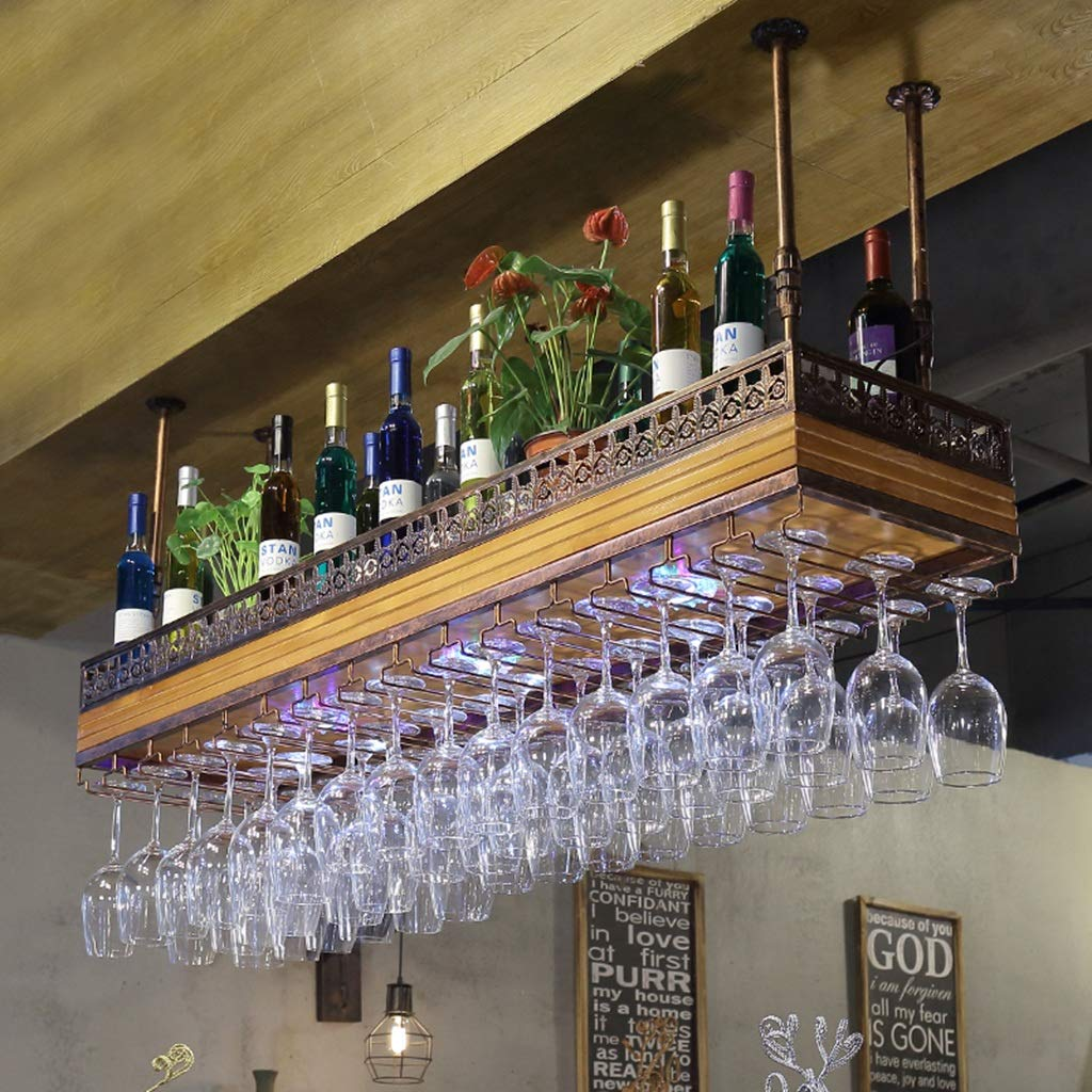Botelleros para Vino Wine Rack Wine Glass Holder Madera Clara más ...