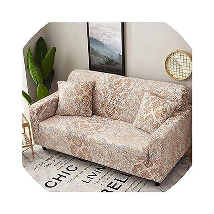 Amazon.com: Slipcover Stretch Fabric Sofa Sets All-Inclusive ...