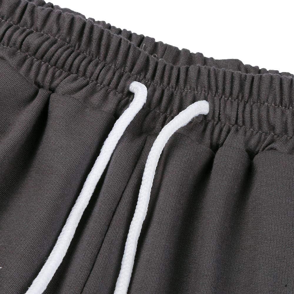 Sweat-Shirt MOIKA Homme Sweat-Shirt Col Rond Manches Longues /à Encolure Ras du Cou Sportwear Jogging Surv/êtement Ensemble Pantalon