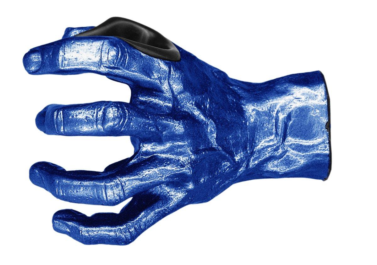 GuitarGrip LHGH-111 Male Standard Grip, Left-Handed, Deep Blue Metallic