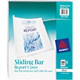 Avery Sliding Bar Clear Report Covers, Pack of 50 (47710)