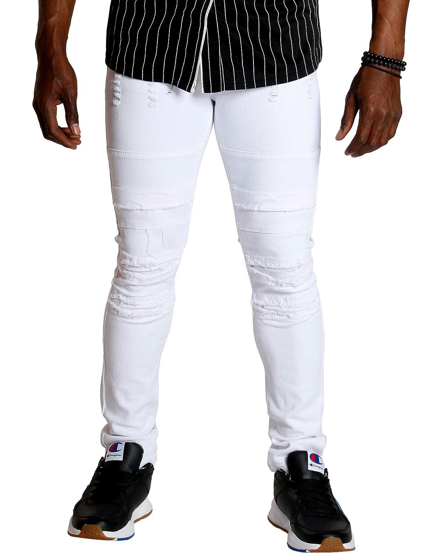 Ankor East Vim Mens Ripped Knee Skinny Jean