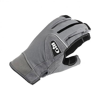Gill Deckhand Short Finger Segelhandschuhe 2018 Handschuhe Grau