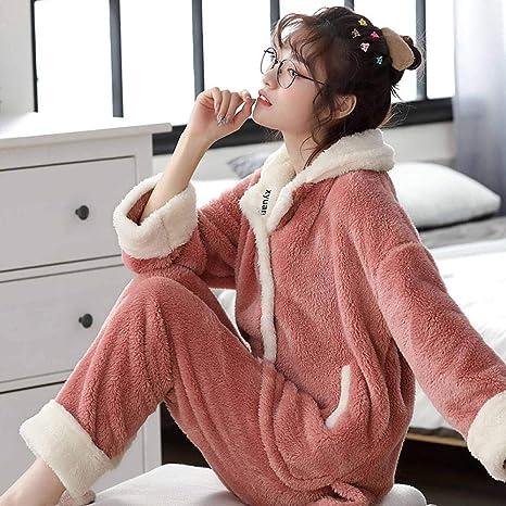 Piyama de Mujer, Winter Plus Pijama de Mujer con Relleno de ...