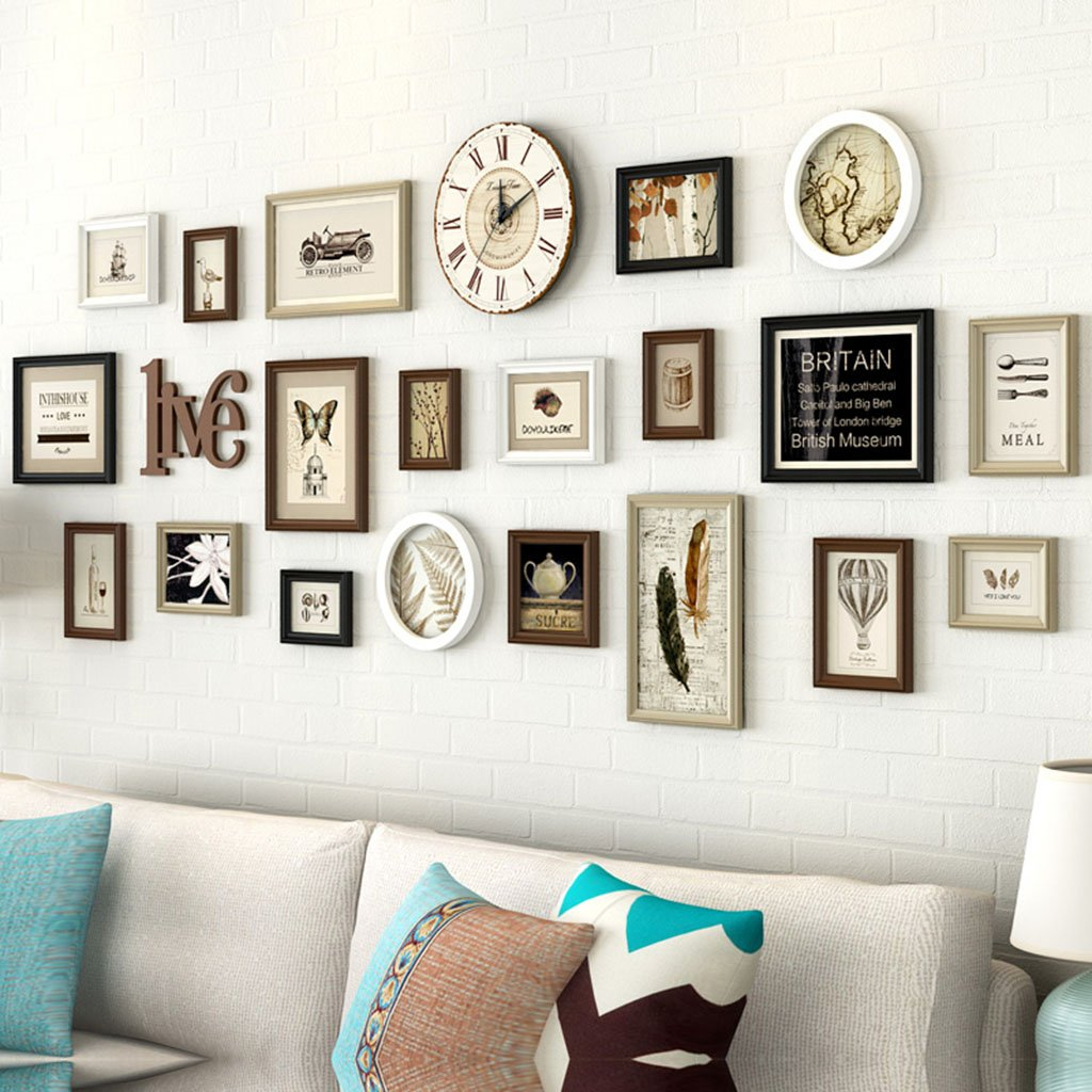 Foto Wandrahmen Holz Bilderrahmen, 20 Teile/sätze Collage ...