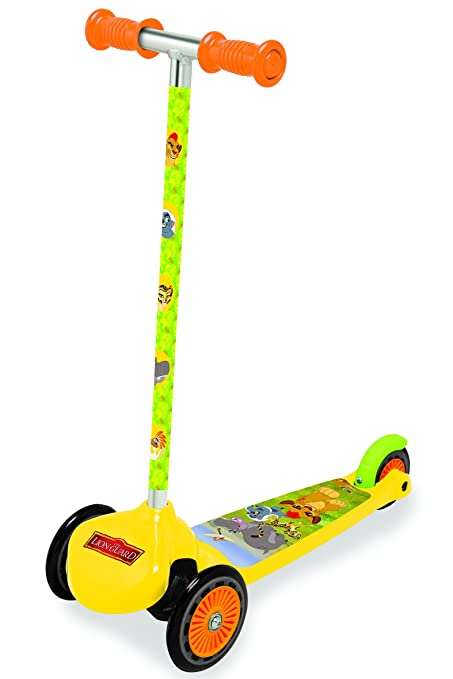 Amazon.com: Smoby 7600750216聽-聽Three Wheels Scooter Twist ...
