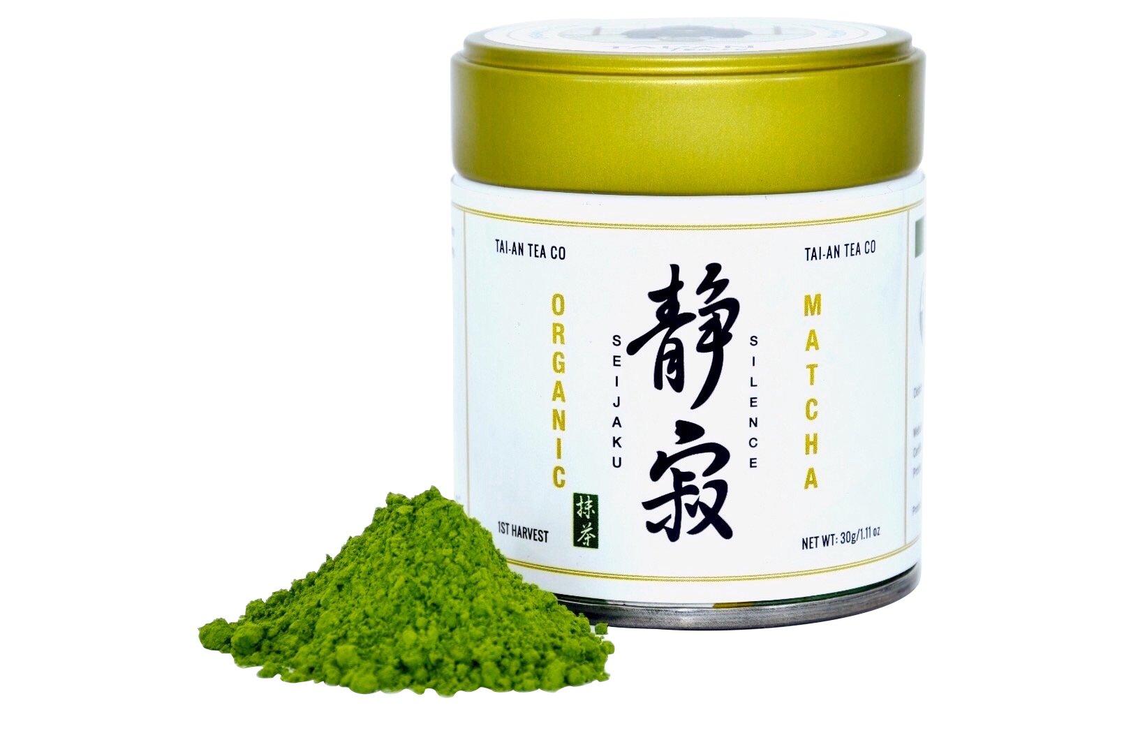 Tai-an Tea Co. Organic Premium Uji-Kyoto Ceremonial Matcha Green Tea-Seijaku(Silence)-30g/1.11oz
