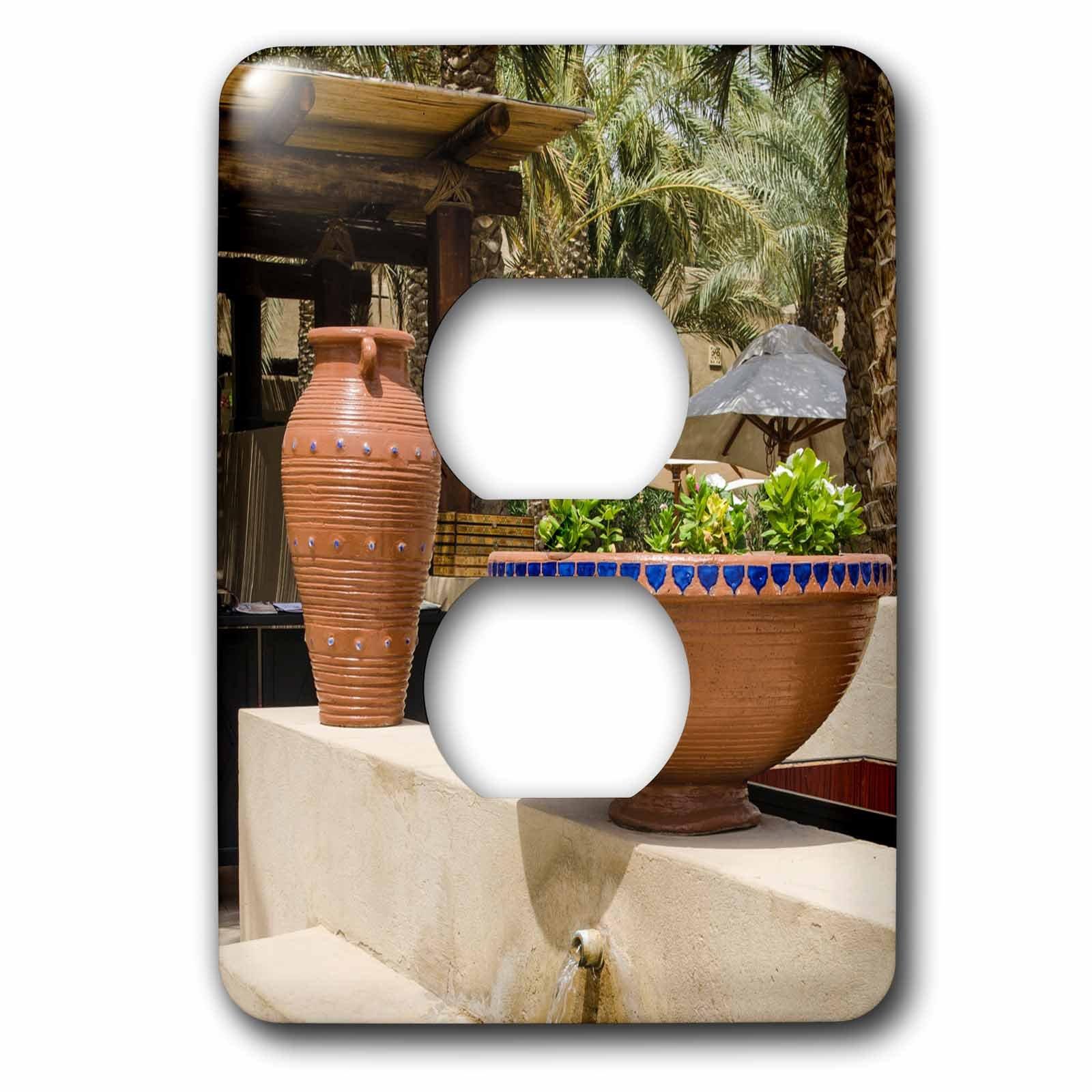 3dRose (6) 2 Plug Outlet Cover (lsp_226130_6) 2 Resort and Spa. Dubai, United Arab Emirates.