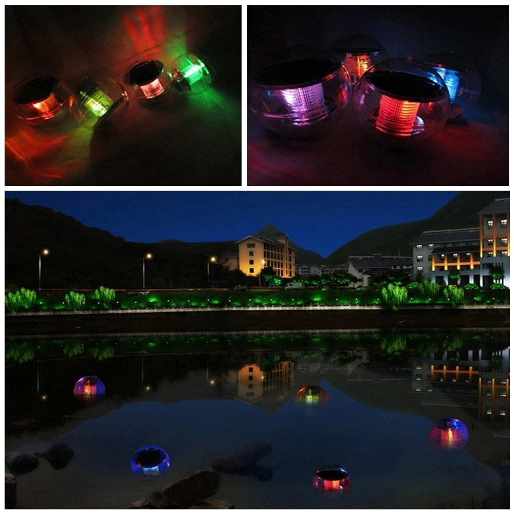 StillCool Floating LED Lights Waterproof Multi Color Lights with Remote and Battery Operated,Festival Flameless Decor Light for Vase,Fish Tank,Garden,Aquarium,Party,Halloween,Christmas Decoration