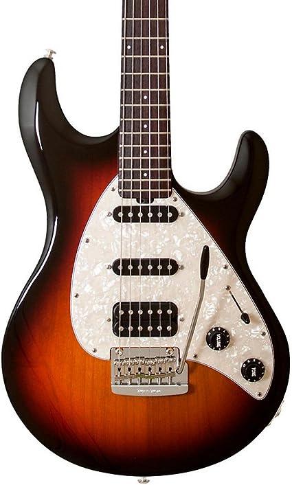 Ernie Ball música hombre silueta especial guitarra eléctrica ...