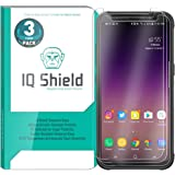 Galaxy S8 Active Screen Protector (3-Pack), IQ Shield Tempered Ballistic Glass Screen Protector for Galaxy S8 Active 99.9% Transparent HD and Shatter-Proof Shield