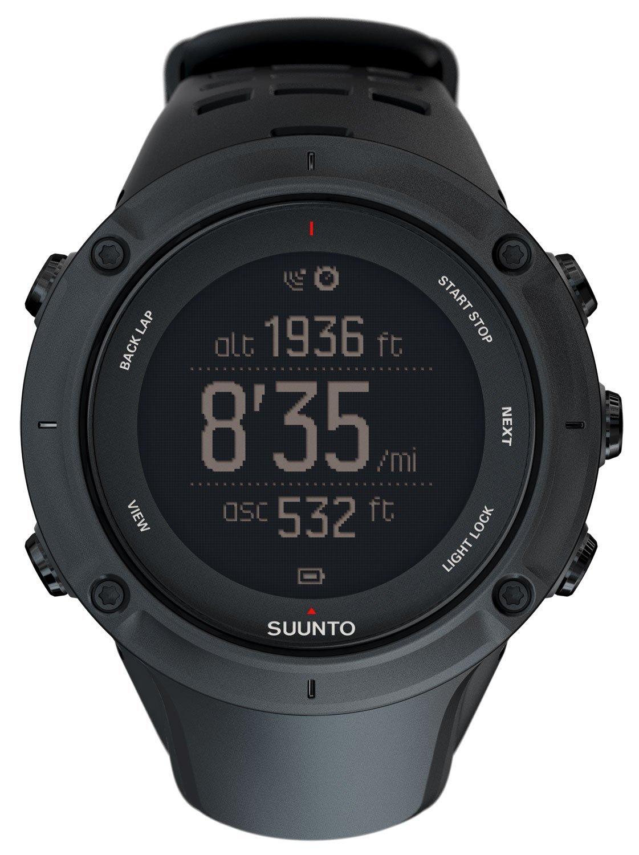 Suunto Unisex Armbanduhr Ambit 3 Peak - schwarz - 50 x 50 x 18 mm - SS020677000