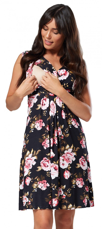 Happy Mama Boutique Women's A-Line Dress pregdress_808