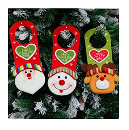 edtoy christmas door decorations door hanging decor front door decorations christmas party supplies decorations snowman