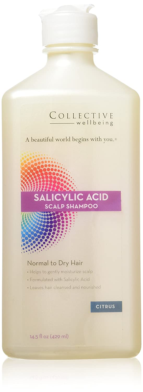 Collective Wellbeing Shampoo, Citrus, Salicylic Acid Scalp, 14.5 Fluid Ounce