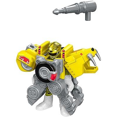 Fisher-Price Imaginext Power Rangers Battle Armor Yellow Ranger: Toys & Games