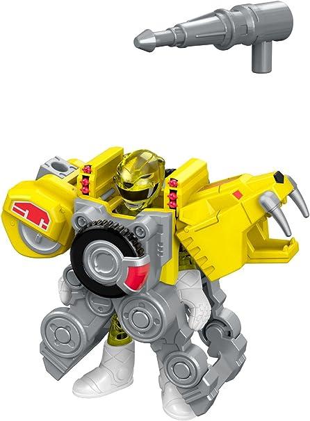 Fisher-Price Imaginext Power Rangers Yellow Ranger Action Figure Birthday Gift