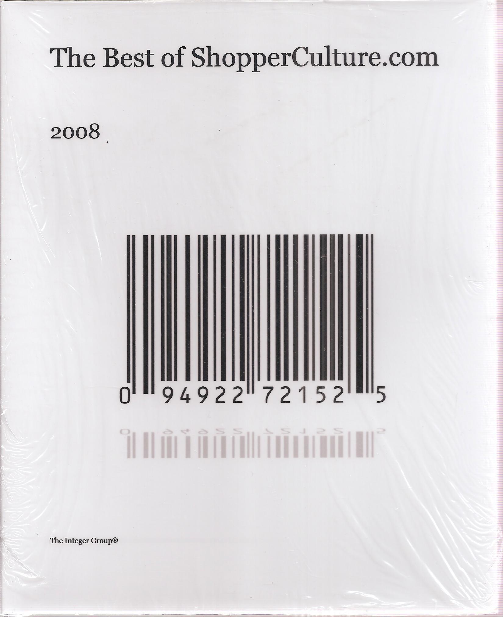 The Best of ShopperCulture.com 2008 PDF