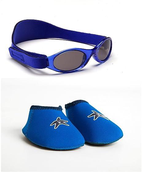 BabyBanz Conjunto de gafas de sol patucos para bebé de 0 a 6 ...