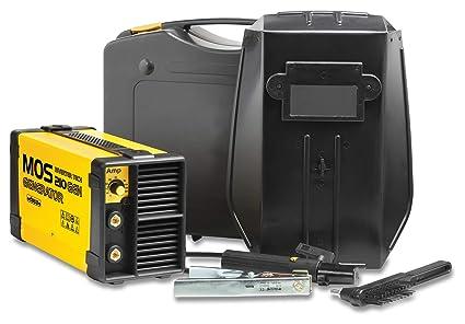 Deca 284380 Generador Inverter para soldadura de electrodo y Tig Mos ...