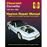 Chevrolet Corvette (84-96) Haynes Repair Manual (Does not include information specific to ZR-1 models. Includes thorough vehicle coverage apart from the specific exclusion noted)