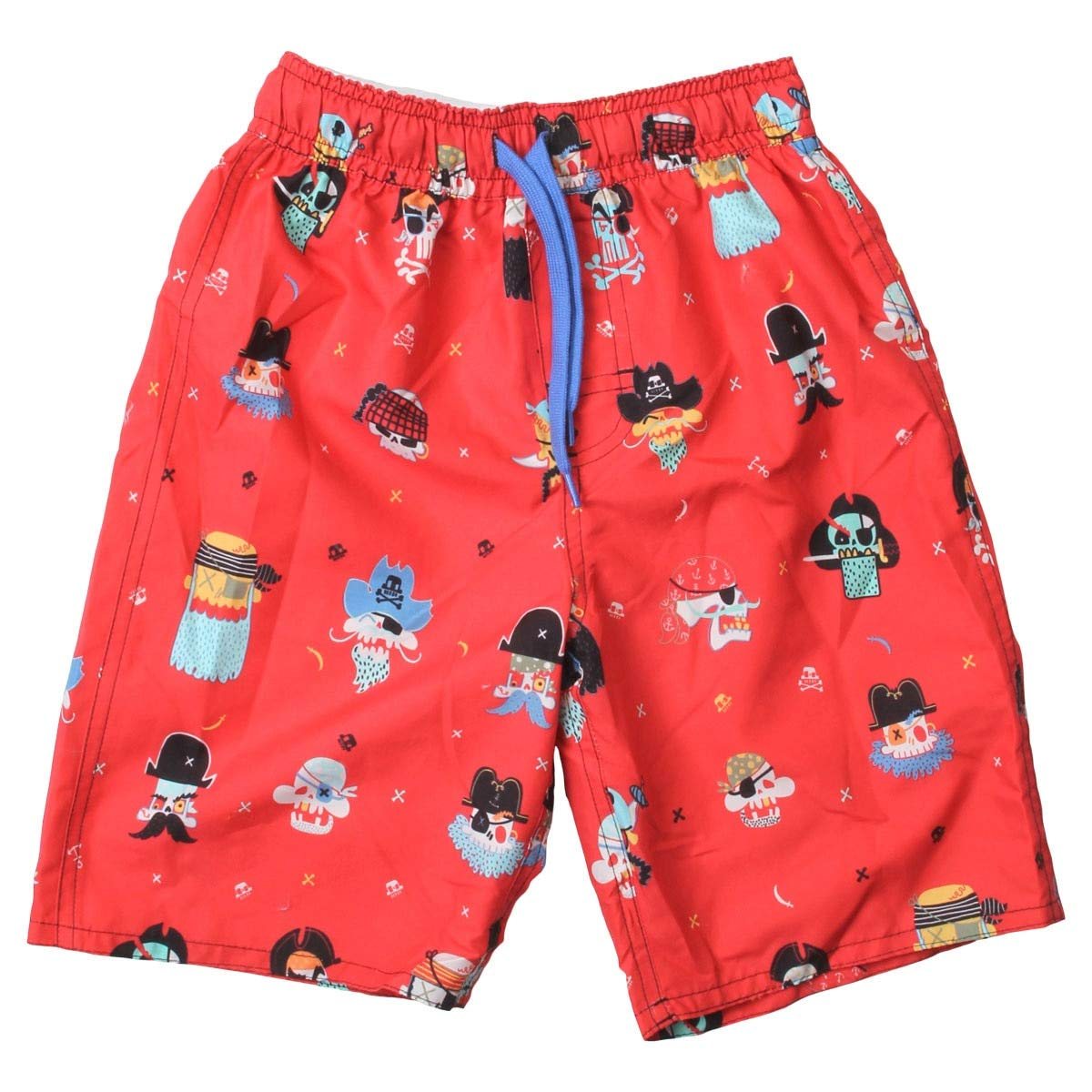 Wes and Willy Pirate Swim Trunk