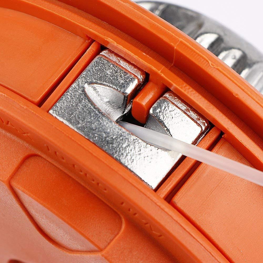 Suge Tap and Go 10 m, 2,7 mm, Rosca Universal LHF Cabezal para Cortador de cepillos