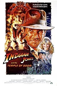 """Posters USA - Indiana Jones and the Temple of Doom Movie Poster - MOV062 (24"""" x 36"""" (61cm x 91.5cm))"""