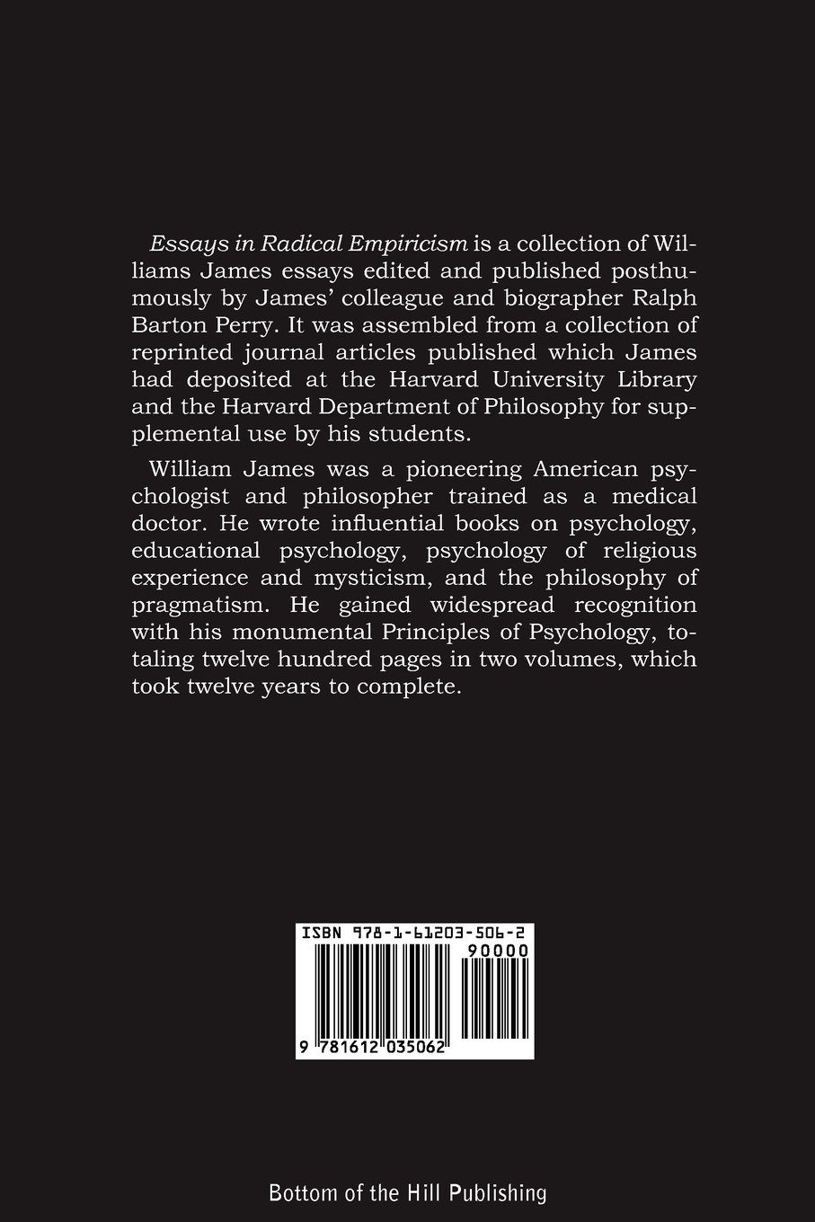 essays in radical empiricism william james amazon essays in radical empiricism william james 9781612035062 com books