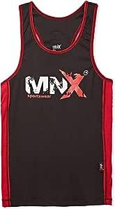 MNX Sportswear Rib Tank Top for Men