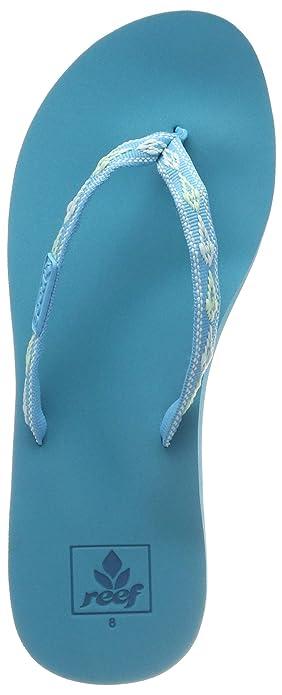 7a33c4ec60fa Reef Women s s Ginger Flip Flops Green (Triopical Aqua Tqa) 3 UK