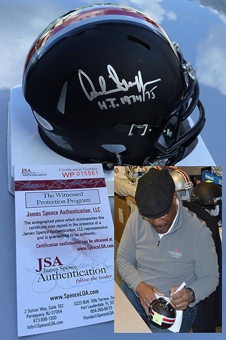 d7ba1957c Archie Griffin Signed   Autographed Black Ohio State Buckeyes Mini Helmet -  JSA