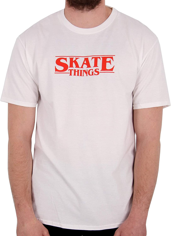 Skate Hut - Camiseta - para Hombre Blanco White/Red XXL: Amazon.es: Ropa y accesorios