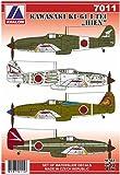 アヴァロンデカール 1/72 川崎 三式戦闘機 飛燕1型丁 プラモデル用デカール AVD7011