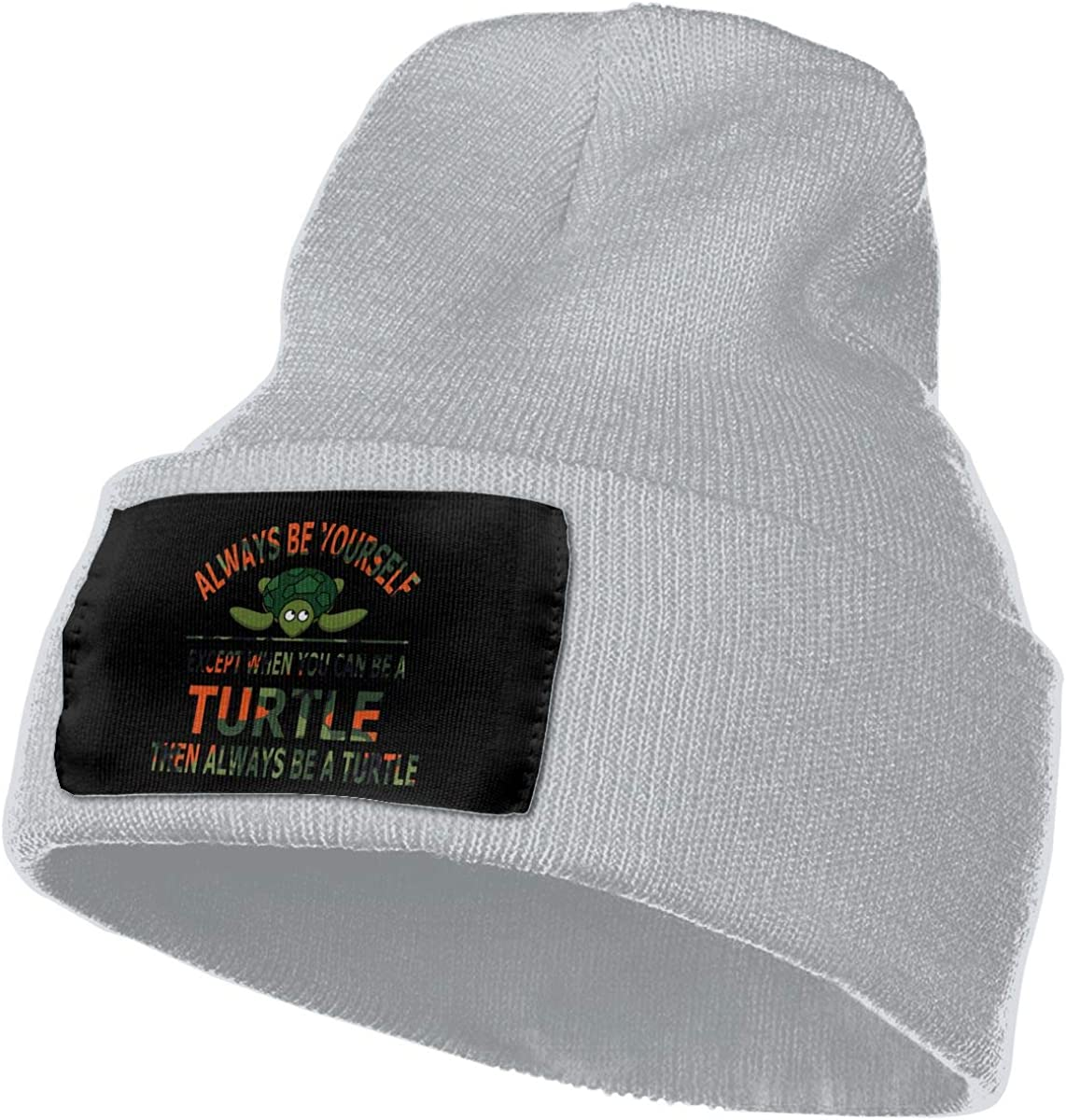 Camouflage Always Be Yourself Turtle Unisex Fashion Knitted Hat Luxury Hip-Hop Cap