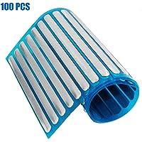 Nose Bridge Strip 100PCS, Aluminum Strips for DIY Mask Handmade Crafting Making Nose Bridge Clip (Size: 0.02X0.2X3.54…